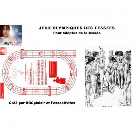 JEUX OLYMPIQUES DE LA FESSEE jeu de société