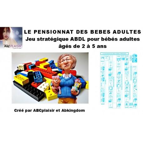 Pensionnat des ABDL jeu de société